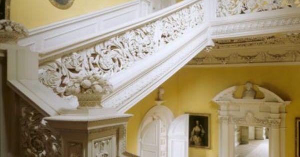 Interior Stairs Sudbury Hall Derbyshire John Fowler Nancy Lancaster Pinterest Interior