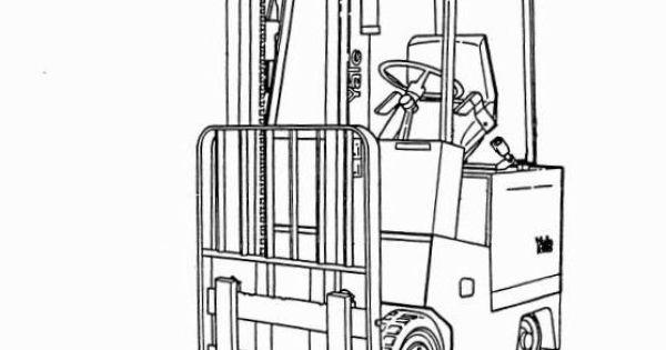 Yale Electric Forklift Truck: ERC060HC, ERC070HC, ERC080HC