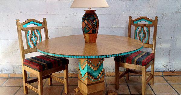 sw painted furniture  Custom Southwestern Furniture