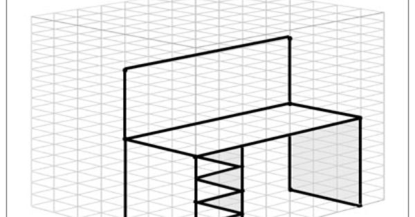 This unique set of graph paper templates helps you sketch
