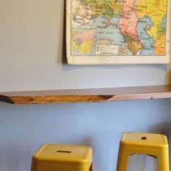 Backsplash Ideas For Small Kitchen Linoleum Floating Breakfast Bar, Wall Mounted Bar ...