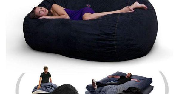 Corda Roys Double King Size Convertible Foam Bean Bag Bed