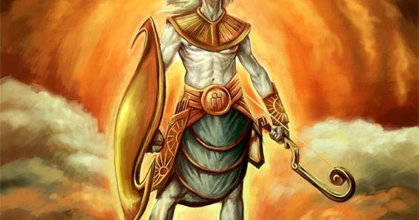 Hyperion- Greek Myth: A Titan, Son Of Uranus And Gaia. He