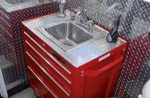 DIY A possible firehousefirefighterthemed man cave