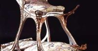 Sex chair (1890) commissioned by Edward VII (1841-1910 ...