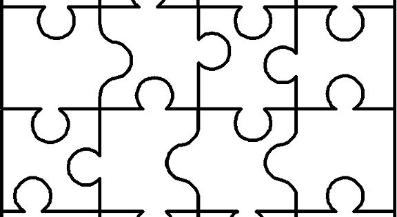 Note from previous pinner- Blank puzzle: I use a similar