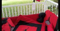 New Custom made MICHAEL JORDAN JUMPMAN Crib Bedding Set ...