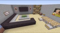 minecraft house interior living room - Google Search ...