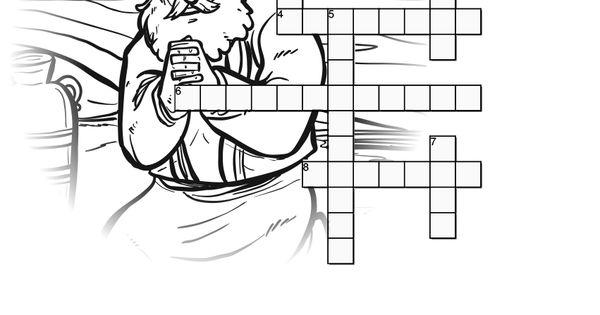 Acts 9 Paul's Conversion Sunday School Crossword Puzzles