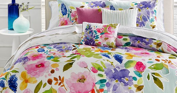bluebellgray Wisteria Mint TwinTwin XL Comforter Set