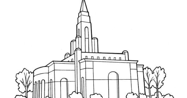 lds temple coloring page  lds coloring pages  pinterest