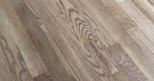 Weathered Oak Floor Reveal  More Demo  Oak stain Oak