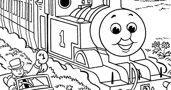 Thomas and friends, Coloring pages and Coloring on Pinterest