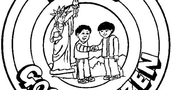 Character Counts Pillars Pages Coloring Pages