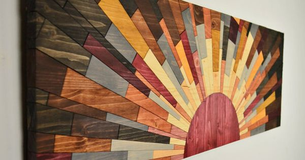 Wood Wall Art EDGE Of THE DAY Wooden Wall Art By