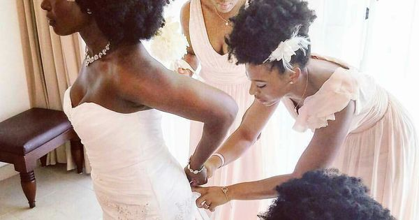 All Natural Wedding Party Natural Hair Care Pinterest