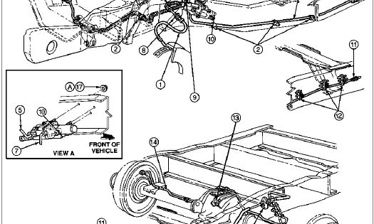 Wiring Diagram: 31 Ford F250 Brake Line Diagram