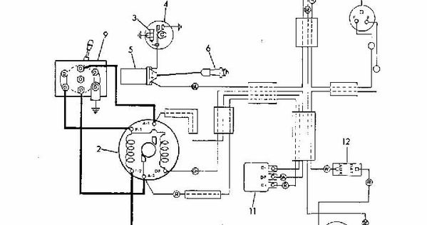Par Car Golf Cart Parts. Engine. Wiring Diagram Images
