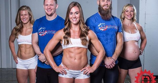 Brooke Wells Crossfit abs pregnant  TheCrossfit  Pinterest  Crossfit abs and Wells