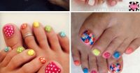 44 Easy And Cute Toenail Designs for Summer | Beauty ...