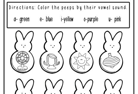 *FREE* No Prep Easter Math and Literacy Pack