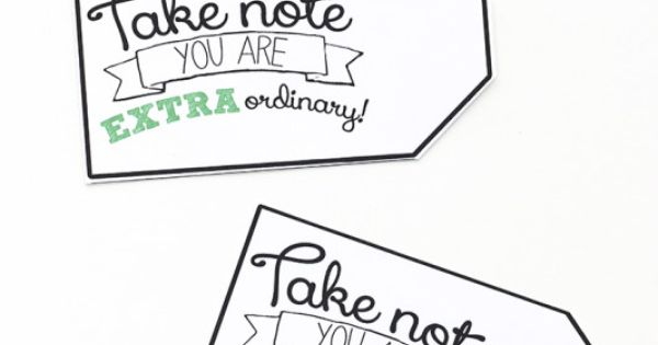 Free Printable Thank You Gift Tags with #GiveExtraGetExtra