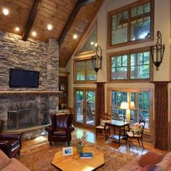 Living Room Ideas With Light Wood Floors Large Mirror For Pine Tongue And Groove Ceiling Paired Douglas Fir ...