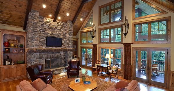 designer living room furniture couches and loveseats pine tongue groove ceiling paired with douglas fir ...