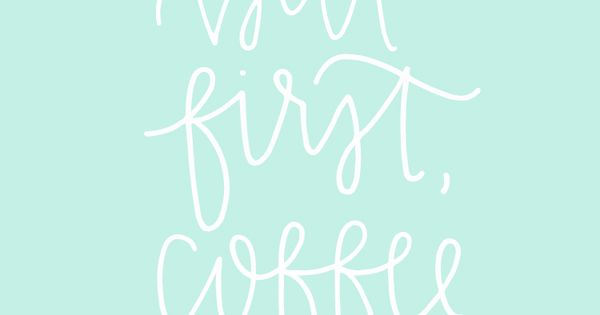 Hemingway Quotes Phone Wallpaper Free But First Coffee Wallpaper From Chalkfulloflove D