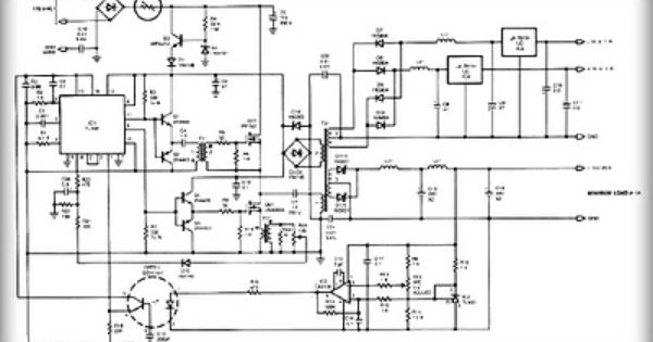 Multiple output switching power supply circuit Schematic