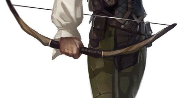 M Half Elf Half Orc Urban Ranger Archer
