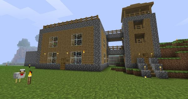 House Design Ideas For Minecraft This House Wouud Be An Easy One