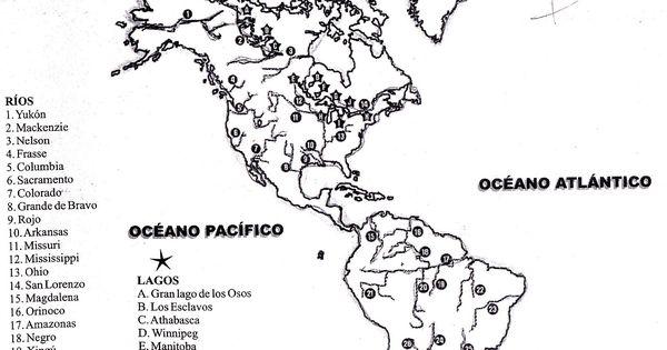 Rios Y Lagos De AmÉrica Mapa « The Cvr… 2003 2012 Cyber