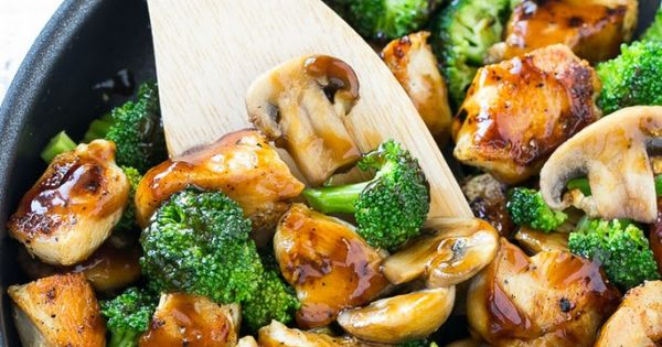 Chicken and Broccoli Stir Fry Recipe Main Dishes with