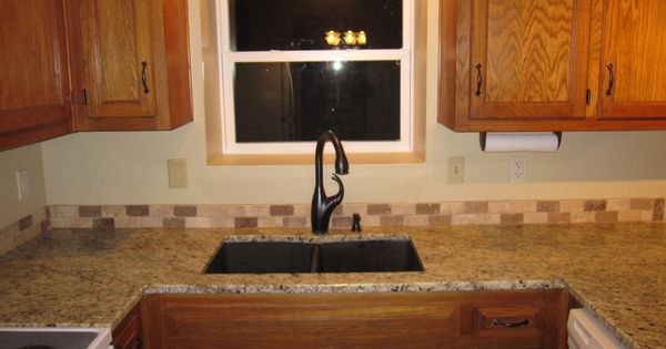 moen bronze kitchen faucet pictures of granite countertops and backsplashes refurbished oak cabinets, new window, restoration hardware ...