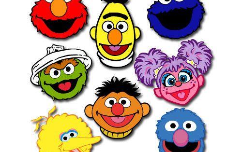 Sesame Street Set Svg File By Berrycutesvgfiles On Etsy