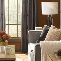 Curtains For Living Room With Grey Sofa Rooms Ideas 2017 Warm Colors And Metals – Adding Harvest Like Amber ...