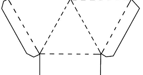 Piramide Doosje Altijd Handig Voor Een Klein Cadeautje