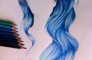 realistic mermaid hair - google