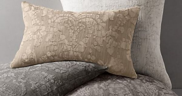 Italian Chenille Pillow Collection