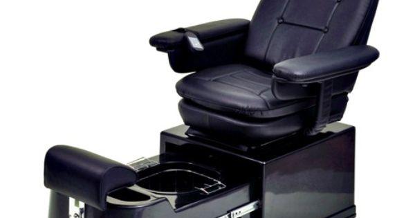 Pibbs PS92Plumbing Free Portable Pedicure Chair