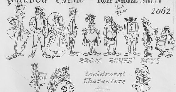 Legend of Sleepy Hollow characters from master animator