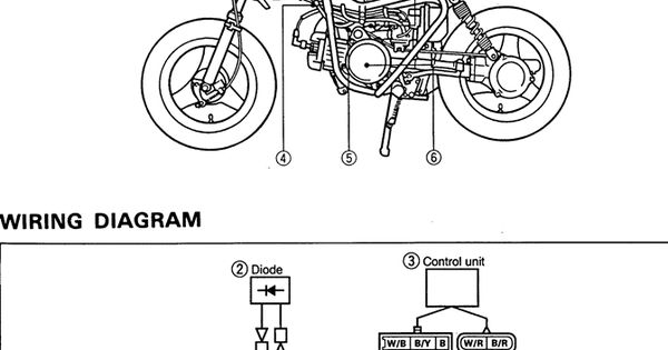 Yamaha Dirt Bike Wiring Diagram Motorcycle Awesomeness