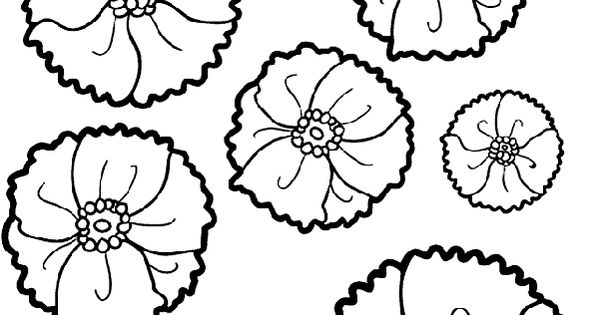 Veterans Day: Poppies to Remember coloring page
