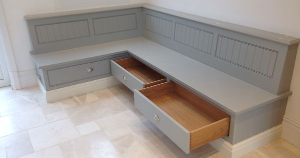 Tom Howley Bench Seat With Storage Draws Banquettes