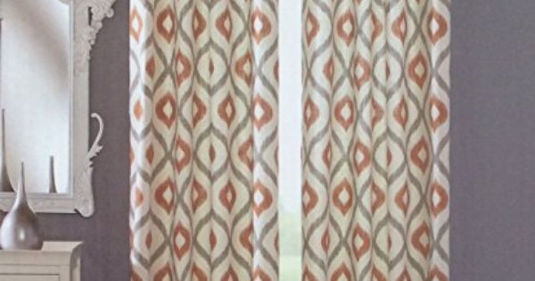 best kitchen soap dispenser making a table cynthia rowley grommet top pair of curtains in gray rust ...