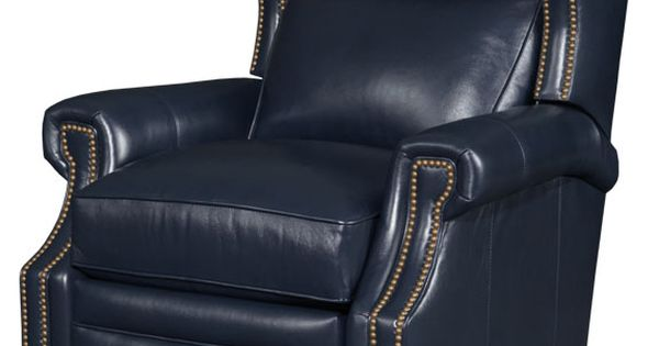Navy Blue Leather Recliner Perfect  Leather Recliners