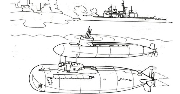 two-big-submarines-coloring-page.jpg 2,240×1,520 pixels