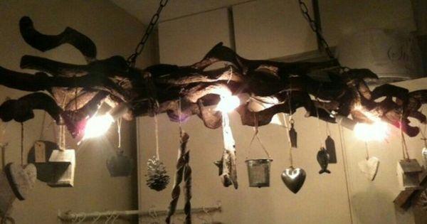 Takken lamp  verlichting  Pinterest  Takken Lampen en