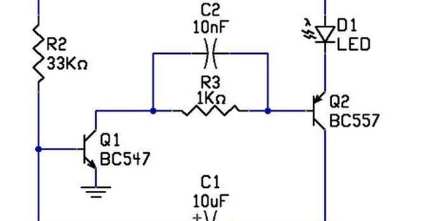 LEDFlasherCircuit‬ is an ‪#‎ElectricalCircuit‬ used to